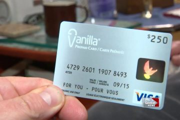 Vanilla Gift Card for Shopping