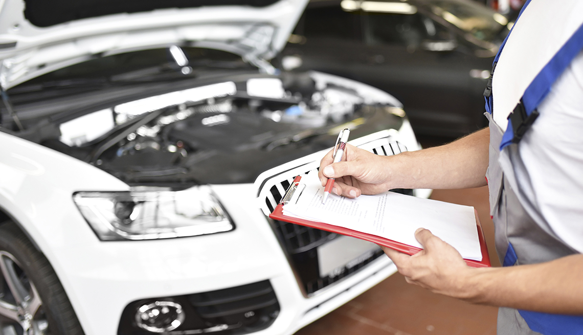 Aspects to be memorized while performing car inspection